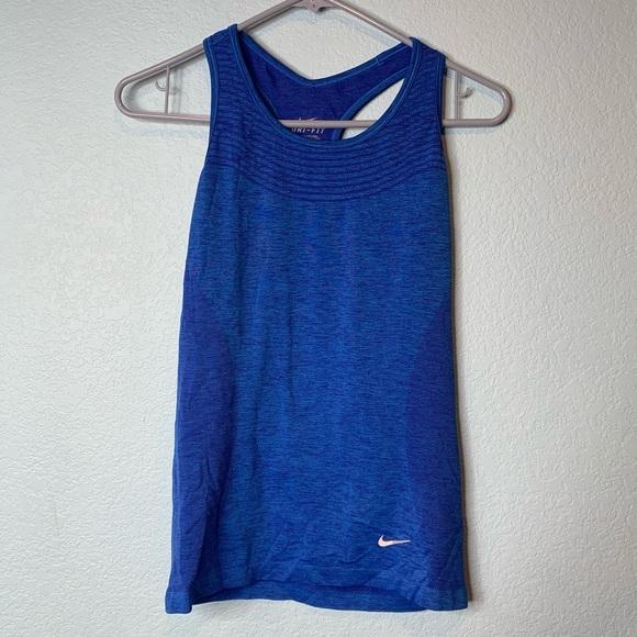 Nike Blue Dri-Fit Tank Top | Small